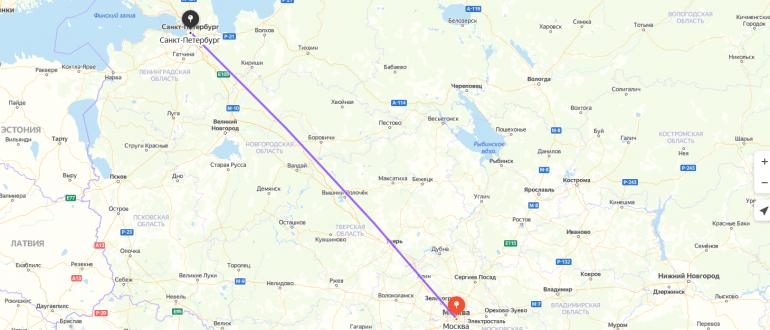 Авиабилеты Москва-Санкт Петербург